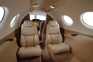 Citation Mustang Jet Interior
